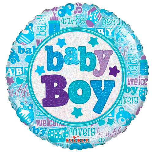 Geboorte - Little Baby Boy ballon