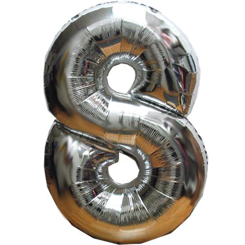 Ballon cijfer kies zelf het getal