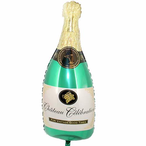 Fles Champagne ballon